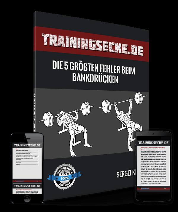 Bankdrücken Titelseite Trainingsecke.de